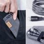 2 - Anker lightning kabel, Powerline+, 0,9 m, črn