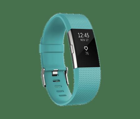 Fitbit Charge 2 Aktivitásmérő, Világoskék, L