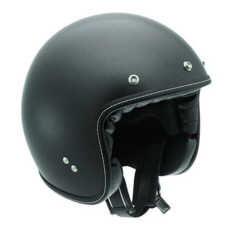 AGV motocyklová jet prilba  RP60 čierna matná vel.XL (61-62cm)