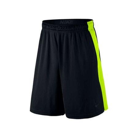 """Nike moške kratke hlače Fly 9"""", črno-rumene, velikost XL"""