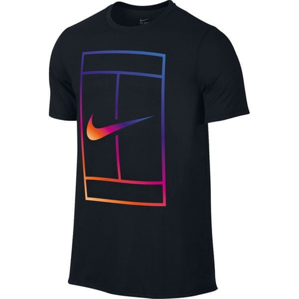 Nike Iridescent Court Tee Black XL