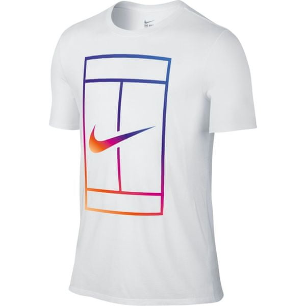 Nike Iridescent Court Tee White XL
