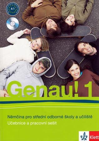Tkadlečková C., Tlustý P.: Genau! 1 - Němčina pro SOŠ a učiliště (Učebnice + PS + 2CD)