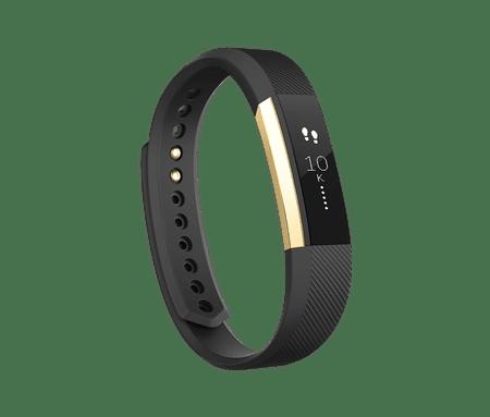 Fitbit aktivna zapestnica Alta, Gold/Black, Small