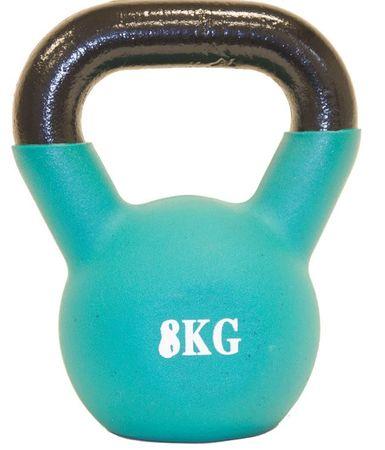 Fitmotiv utež Kettlebell neopren, 8 kg