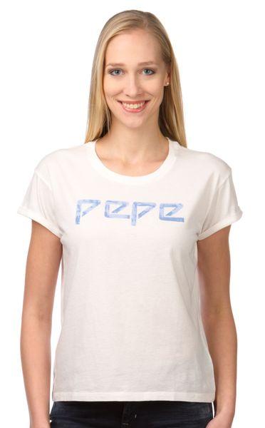 Pepe Jeans dámské tričko Martina L smetanová