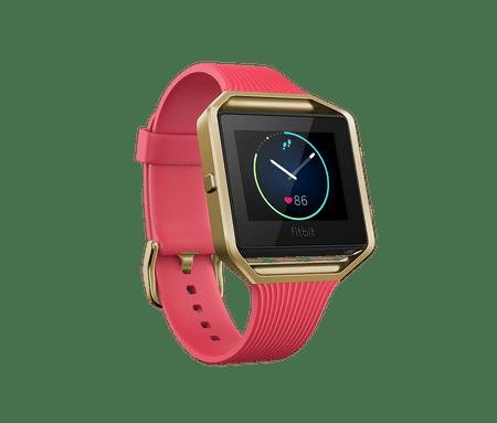 Fitbit aktivna zapestnica Blaze, Tapered Pink/Gold, Small