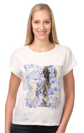 Pepe Jeans T-shirt damski Mini L biały