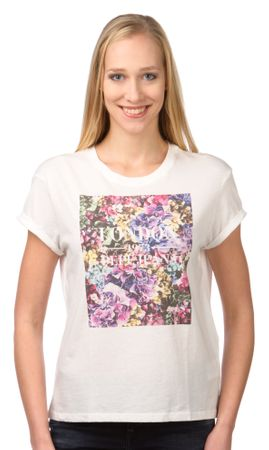 Pepe Jeans T-shirt damski Brenda S kremowy