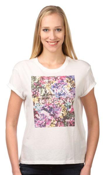 Pepe Jeans dámské tričko Brenda L krémová