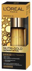 L'Oréal olejek Nutri Gold Olejkowy Rytuał do skóry suchej - 30 ml