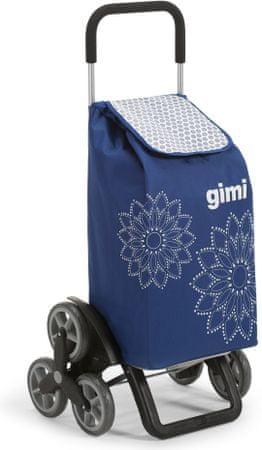 Gimi Kosz na zakupy Tris Floral, niebieski
