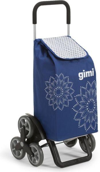 Gimi Tris 56 l Floral nákupní taška modrá