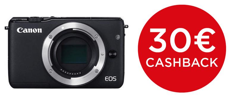 Canon EOS M10 Body Black + 1000 Kč od Canonu zpět