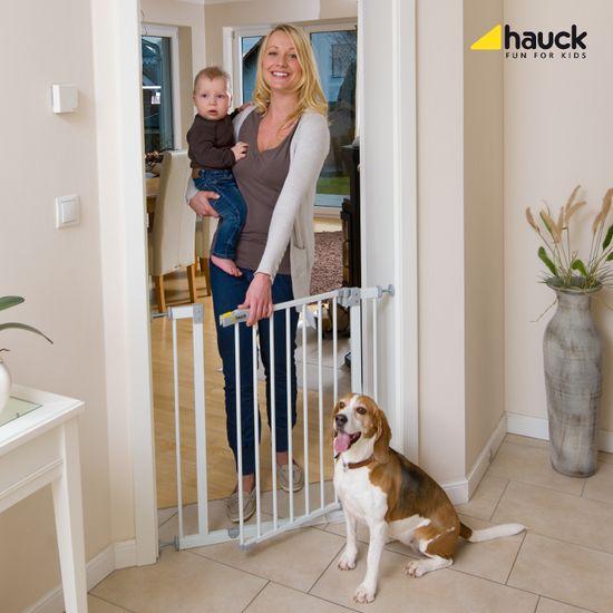 Hauck Open´n Stop Safety zábrana biela