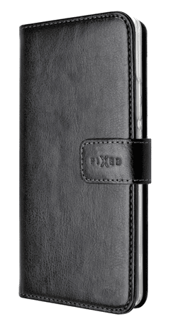 Fixed pouzdro typu kniha Opus pro Lenovo K6, černé