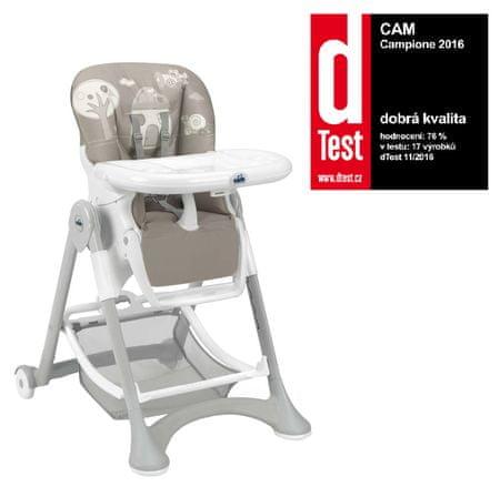 CAM Krzesełko do karmienia Campione, col.227