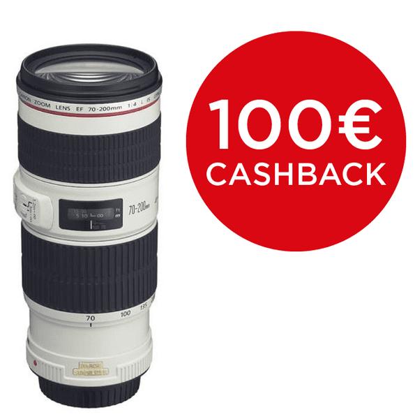 Canon 70-200 mm EF f/4,0 L IS USM + 3000 Kč od Canonu zpět