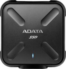 A-Data zewnętrzny dysk półprzewodnikowy ASD700 256GB SSD USB 3.0 Black (ASD700-256GU3-CBK)