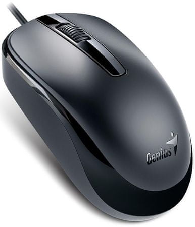 Genius miška DX-120 USB, 1000 DPI, črna
