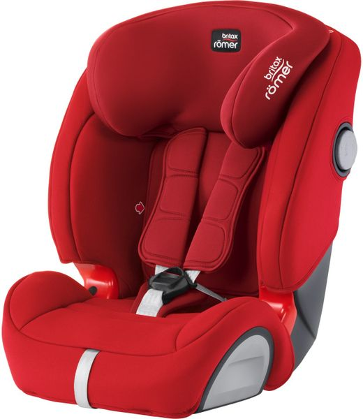 Britax EVOLVA 123 SL SICT 2017, Flame Red
