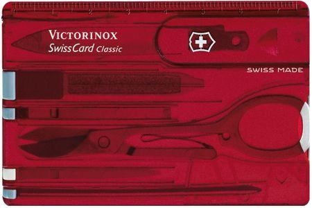 Victorinox SwissCard Classic 0.7100.T, rdeč