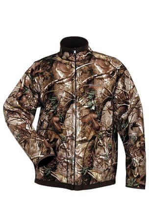 NORFIN Fleece bunda Hunting Thunder Passion / Hnědá L