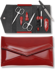 Credo Solingen Luksusowy zestaw do manicure Fire 5