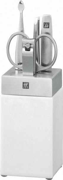 Zwilling J.A. Henckels Koupelnový stojan TWIN Spa, porcelán/nerez, 5dílný