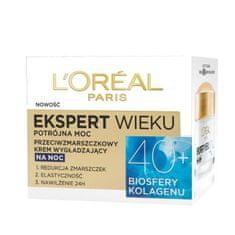 L'Oréal krem Age Specialist Ekspert Wieku 40+ na noc - 50 ml