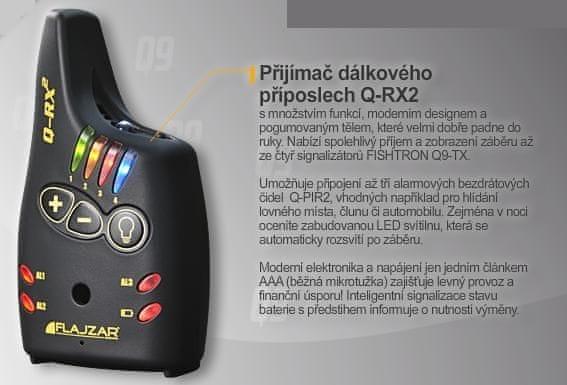 Flajzar Přijímač Q-RX2