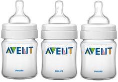 Avent Dojčenská fľaška Classic 125ml 3ks