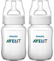 Avent Classic+ Cumisüveg, 260 ml (PP), 2 darab