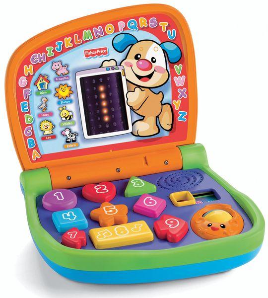 Fisher-Price Dvojjazyčný svítící notebook