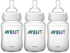 Avent Kojenecká lahev Classic+ 260 ml, 3 ks