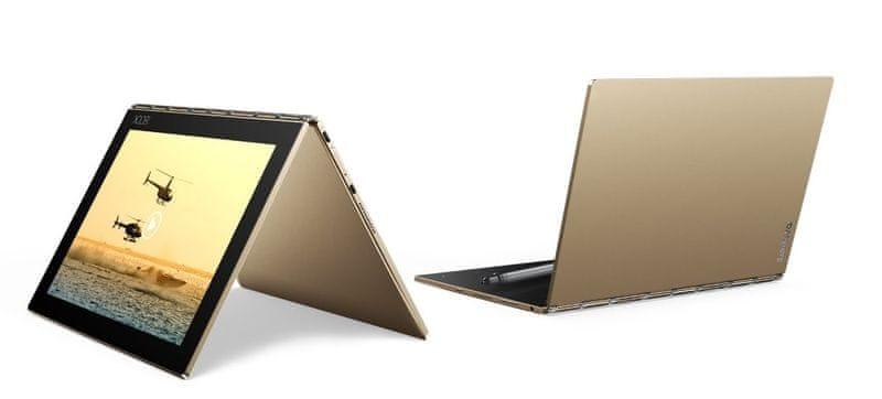 """Lenovo Yoga Book 10"""" 4GB+64GB LTE - Champagne Gold (ZA0W0056CZ)"""