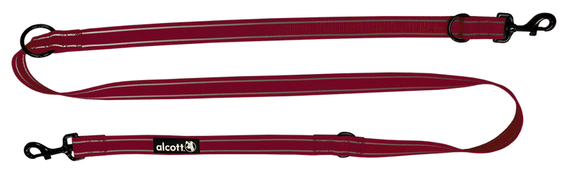 Alcott Přepínací vodítko až 200 cm červené M