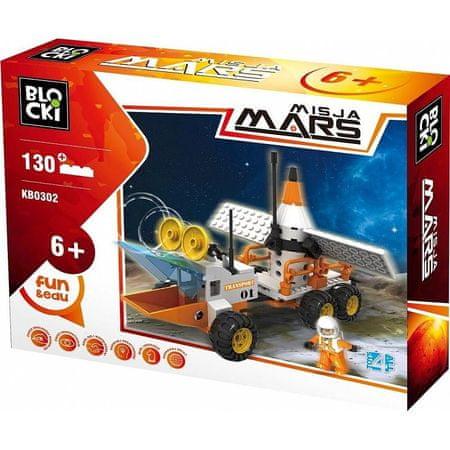 Blocki Klocki Blocki- Misja Mars 130 el. KB0302