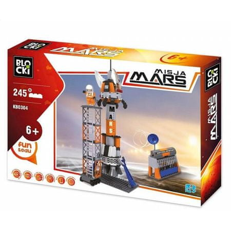 Blocki Klocki Blocki- Misja Mars 245 el. KB0304