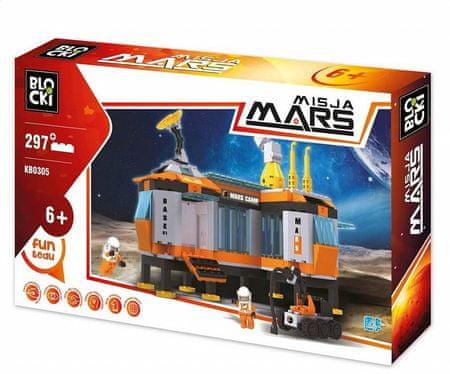 Blocki Klocki Blocki- Misja Mars 297 el. KB0305