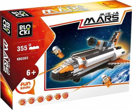 Blocki Klocki Blocki- Misja Mars 355 el. KB0303