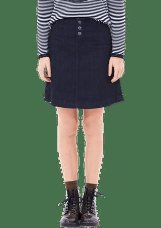 s.Oliver dámská sukně 38 tmavo modrá