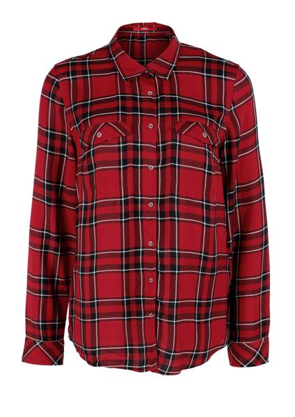 s.Oliver dámská košile 38 červená