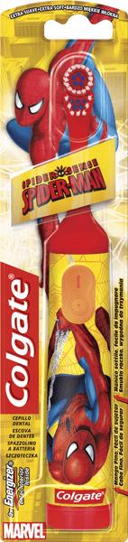 Colgate Kids Spiderman Bateriový zubní kartáček