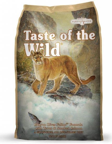 Taste of the Wild mačja hrana Canyon River Feline 2 kg