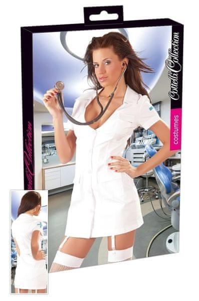 Dámský kostým zdravotní sestra - Krankenschwester set (S)