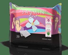 TOSAMA Jasmin intimni vlažni robčki, 20 kosov