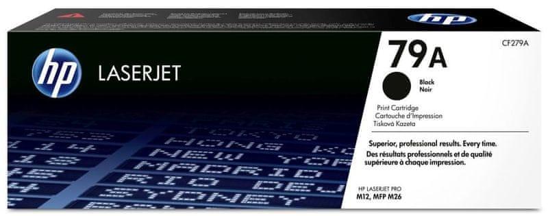 HP 79A Černá originální tonerová kazeta LaserJet (CF279A)