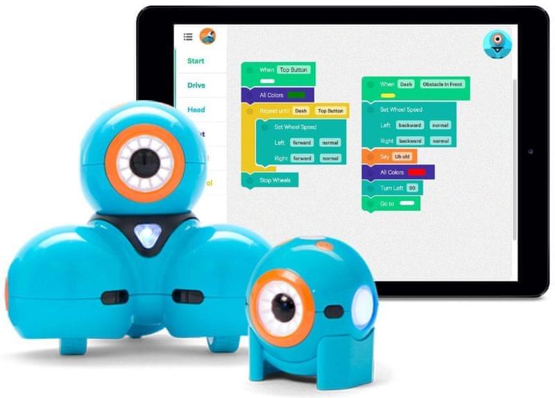 Wonder Workshop roboti Dash a Dot s příslušenstvím