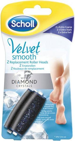 Scholl Velvet Smooth Náhradní hlavice extra hrubá 2 kusy